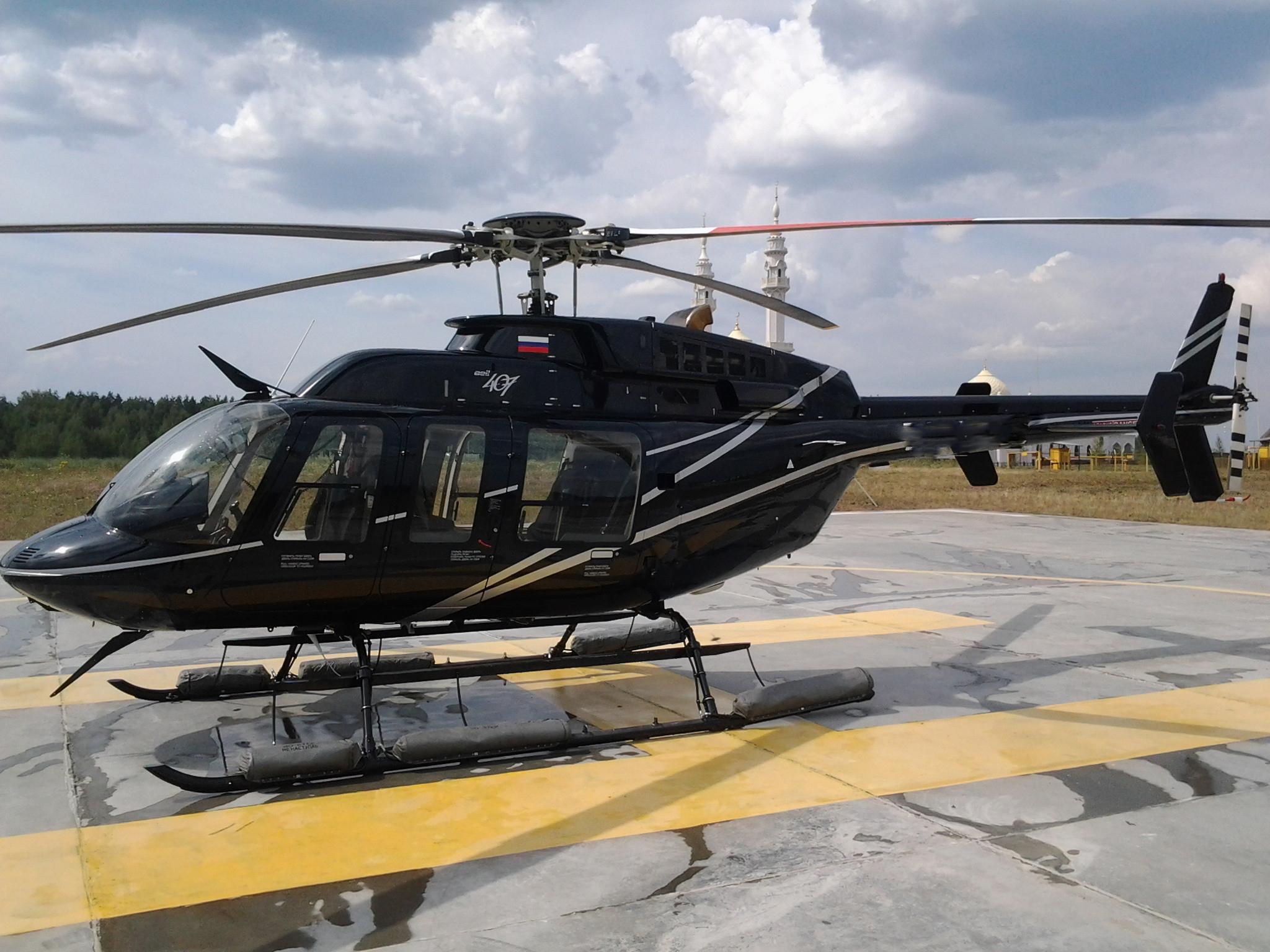 Добираемся на вертолете куда угодно в кратчайшие сроки