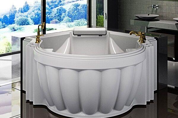 акриловая ванна необычной формы