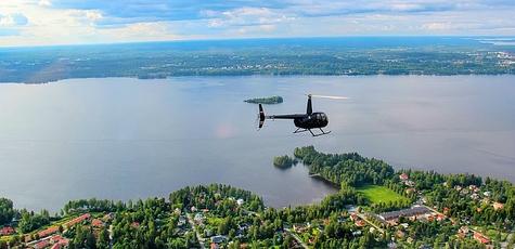 полет на вертолете в подарок
