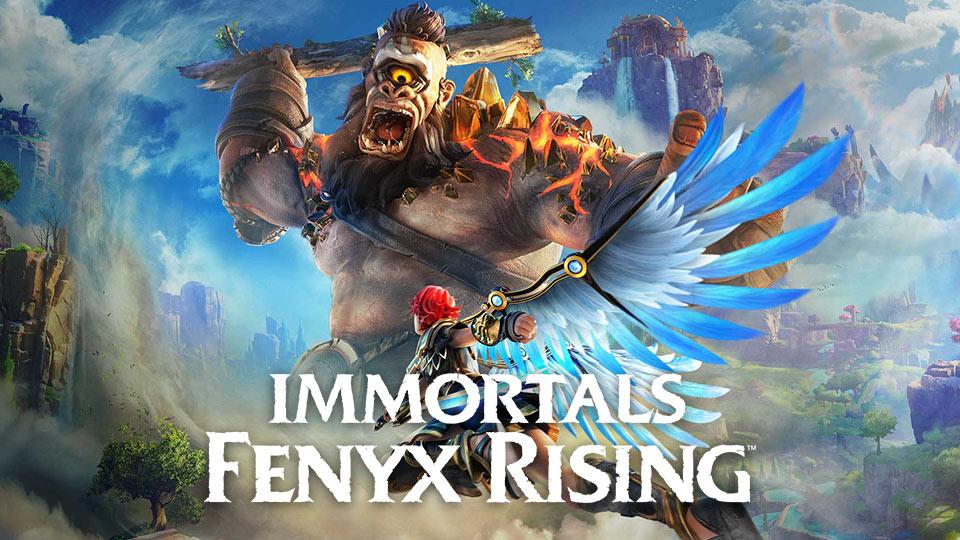 Игра Immortals Fenyx Rising