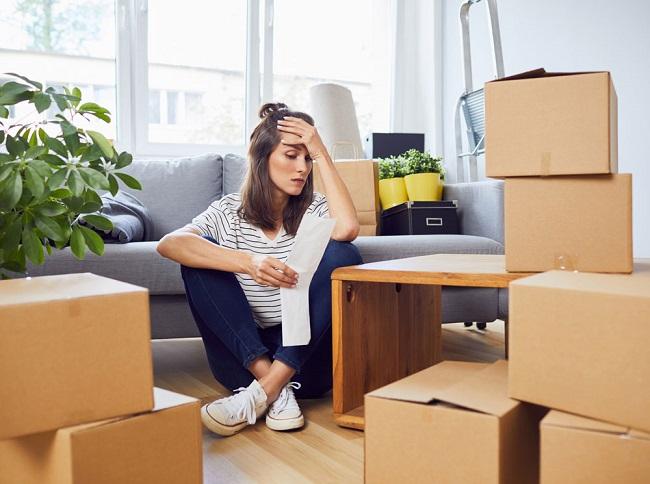 маркировка коробок для переезда