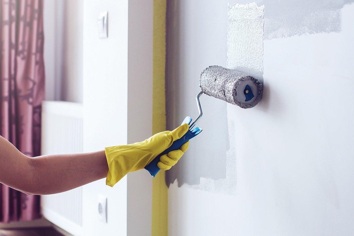 как обработать бетонные стены