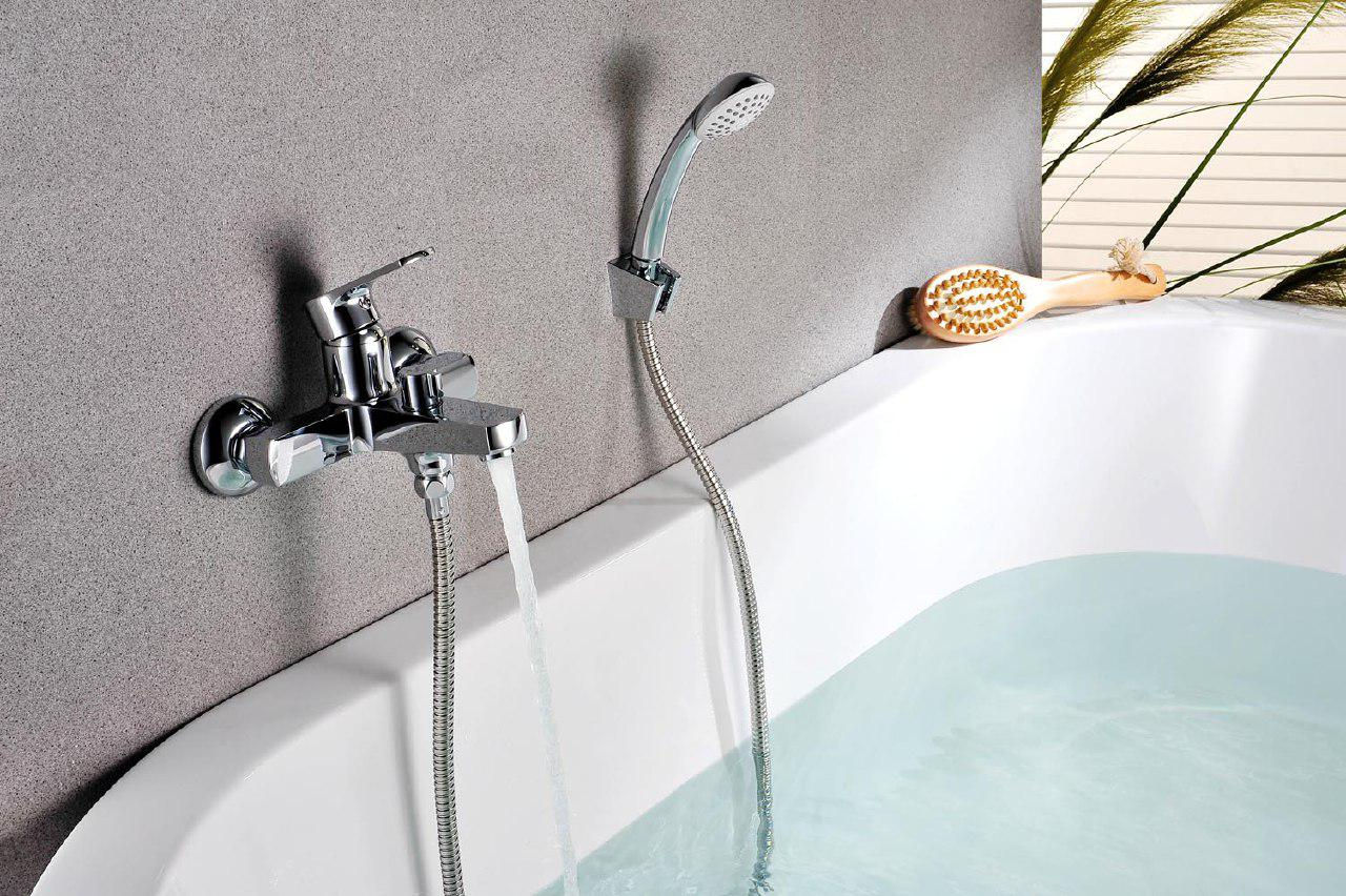 конструкция крана для ванной