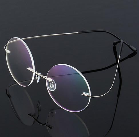 прозрачные очки для красоты и работы за компьютером