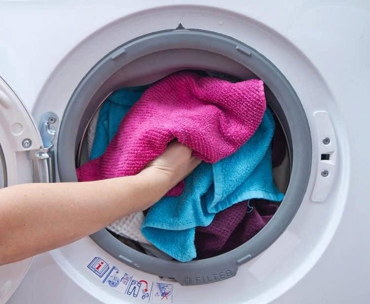 машинная стирка махрового полотенца