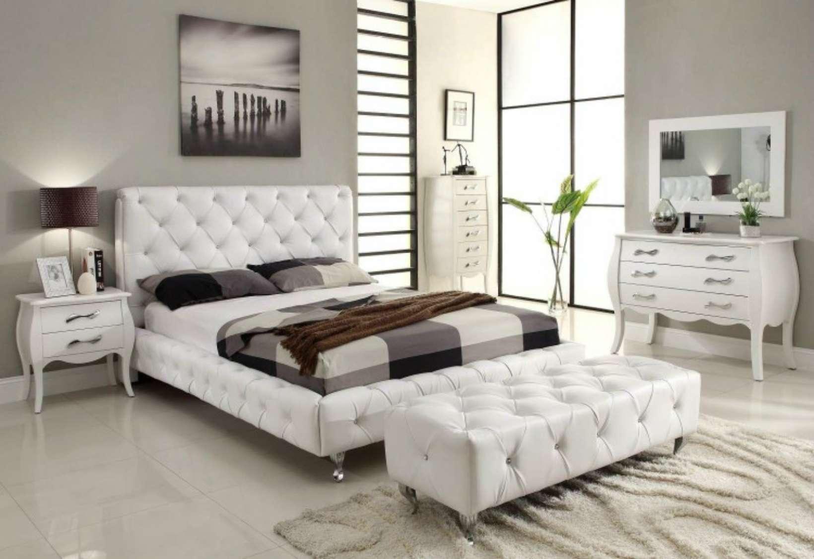 Сочетание кровати и интерьера