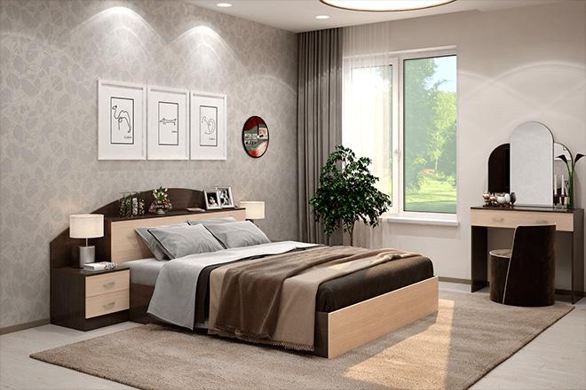 правиль поставленная кровать