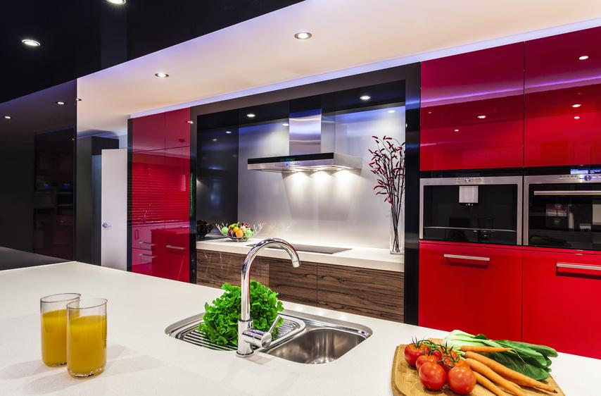 LED-освещение на домашней кухне
