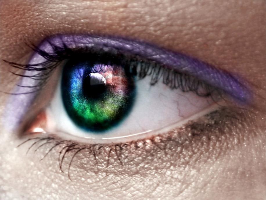 виды цветных линз