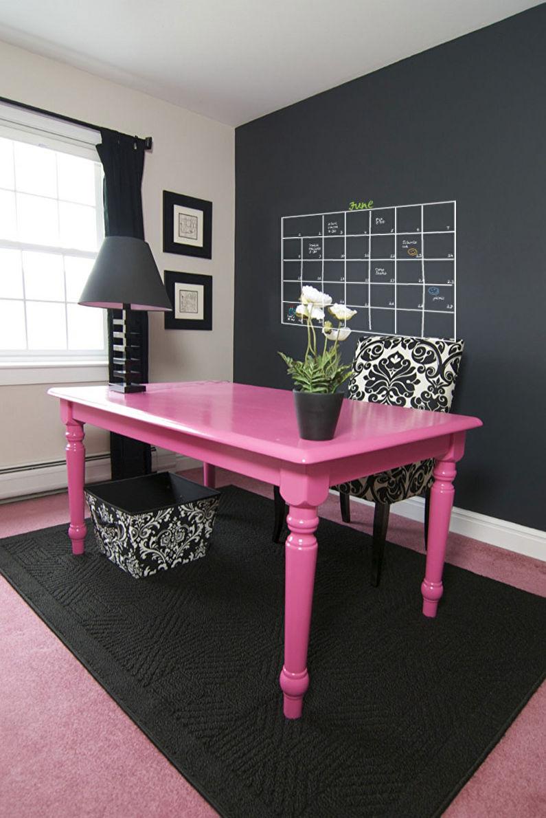 как покрасить стол