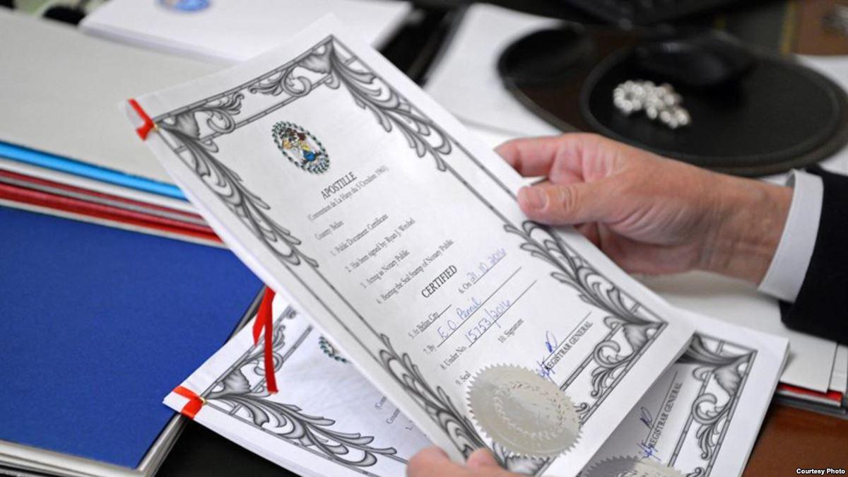 перевод документов для выезда за границу