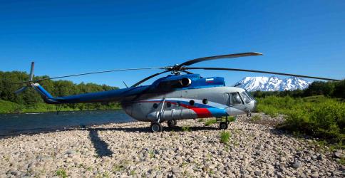 перелет вертолетом на рыбалку