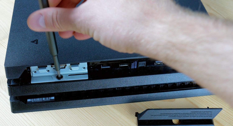 замена жесткого диска на консоли