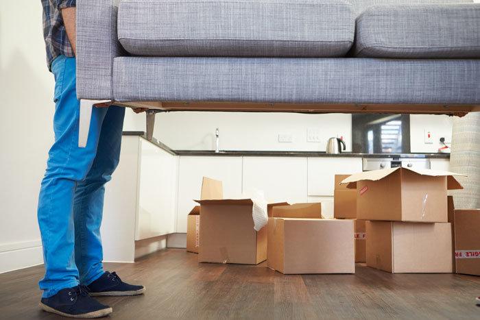 перевозка целого дивана