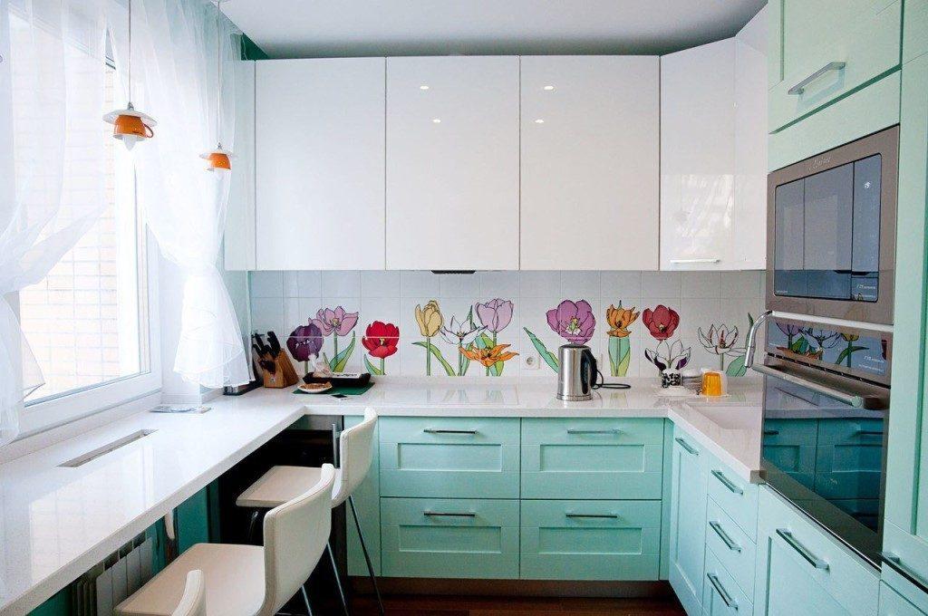 как подобрать цвет кухонной мебели