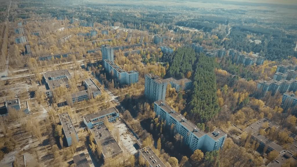 Вертолетная экскурсия в Чернобыль