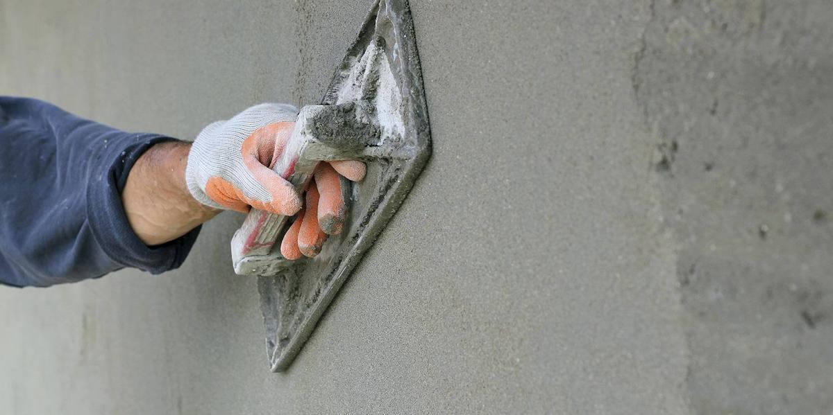 какой способ выбрать для штукатурки бетона