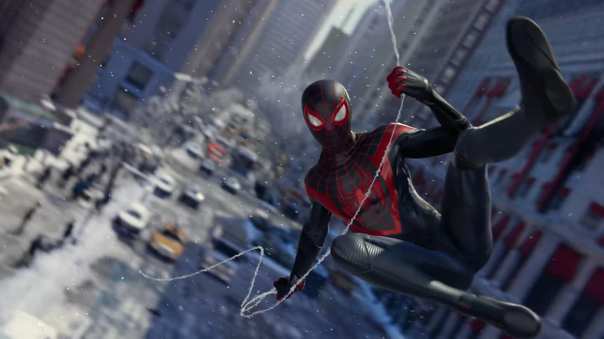 Прекрасная графика Spider-Man: Miles Morales