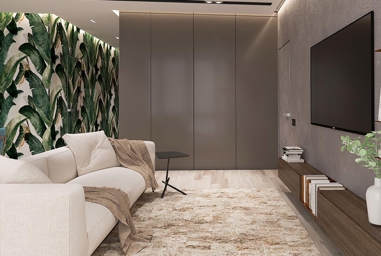 популярные цветовые решения для оформления гостиной
