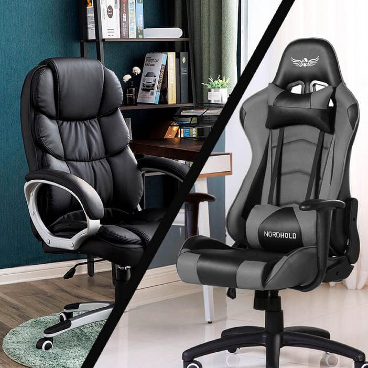 геймерское или офисное кресло