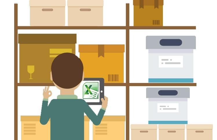 как можно вести учет товаров на складе