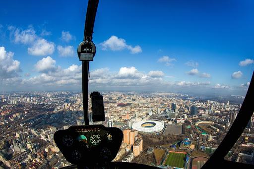Обзорная экскурсия по Киеву на вертолете