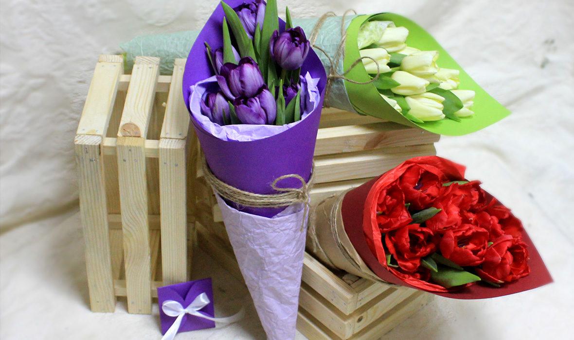 букеты цветов в Киеве