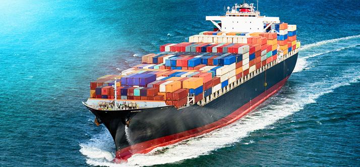 судоходные перевозки грузов
