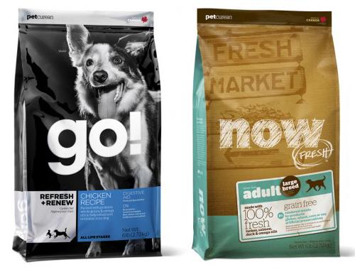Упаковка корма для собаки