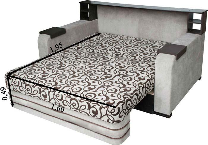 Проверяем размеры дивана для сна